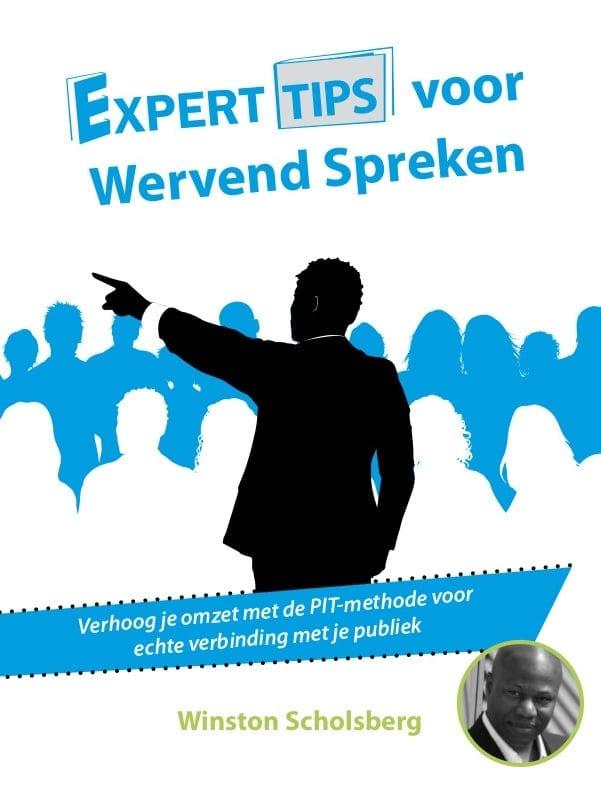 Tip 40 uit mijn boek; Expert tips voor wervend spreken