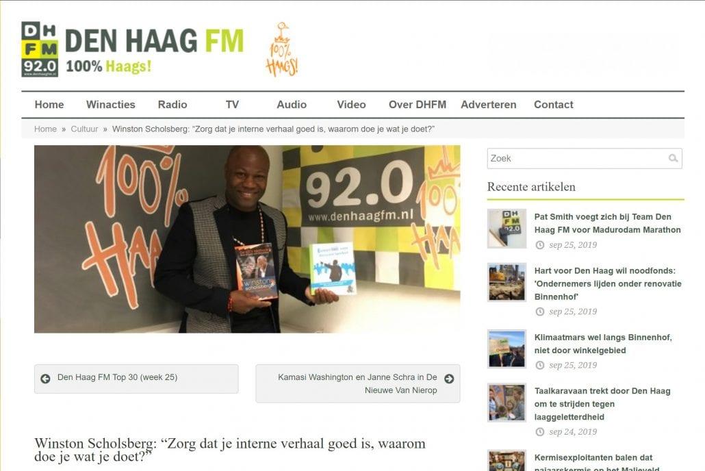 Winston op Den Haag FM